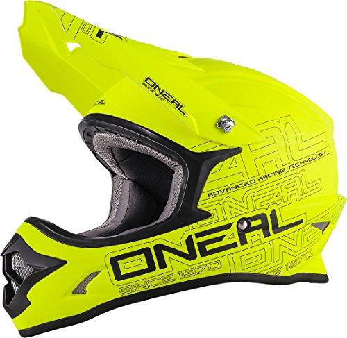 O'Neal 3SERIES Flat Motocross Helm L (59/60) Neon Gelb