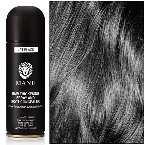 Mane Spray épaississant- Hair Thickener - 200 ml - Noir (11 couleurs disponibles)