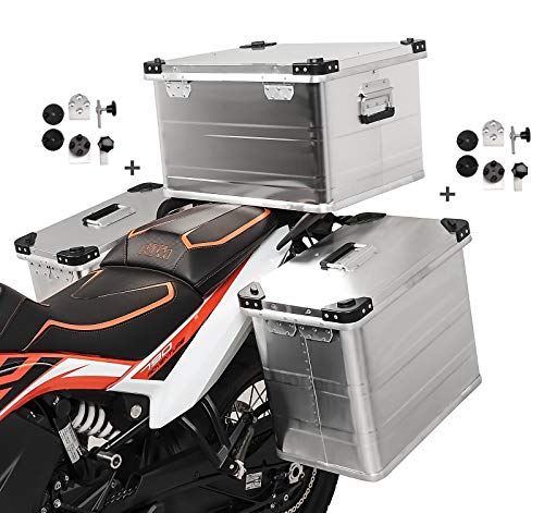 Alu Koffer 45-45L Topcase 64L für Aprilia RST 1000 Futura