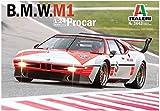 イタレリ 1/24 BMW M1 プロカー 日本語説明書付属 プラモデル IT3643