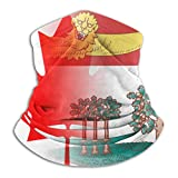 Bandera de la Isla del Príncipe Eduardo Canadá Art Cuello Calentador Polaina Pasamontañas...