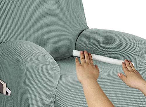 Xpnit Barras de espuma antideslizantes para sofá de relleno de huecos de sofá, fundas de espuma doblables, varillas de espuma de fijación para fundas de sofá (10 unidades, diámetro de 3 cm)