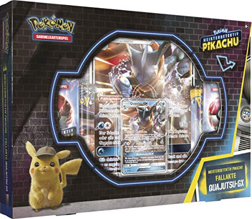 Pokemon 45004 PKM Movie Quajutsu-GX Pin Box, bunt