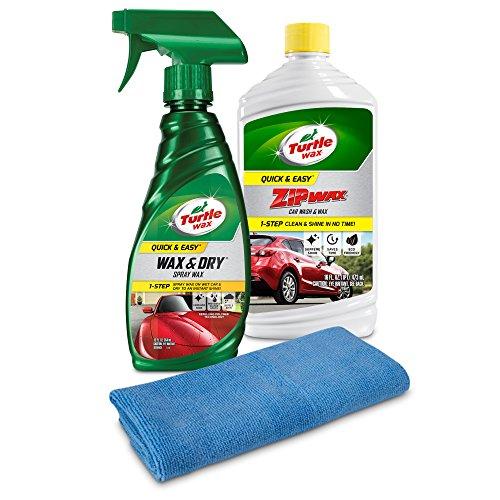 Turtle Wax Quick & Easy Wash & Wax Kit