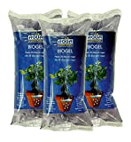Aqua Control Biogel C21403, Agua Sólida para tus Plantas, Ideal para Riego en Vacaciones, Hasta 30 Días sin Regar - 400 ml (Pack de 3)