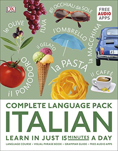 Complete Language Pack Italian: Learn in just 15 minutes a day (Complete...