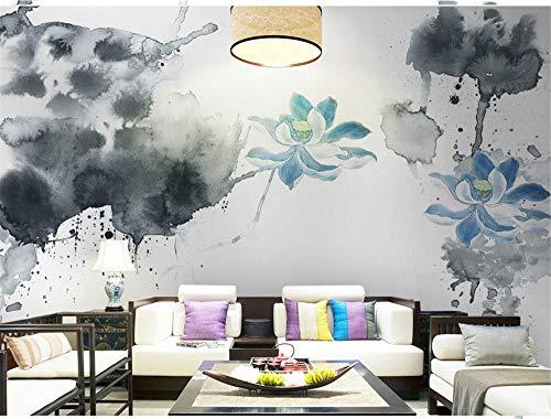 Muurschildering achtergrond Chinese klantgebonden fotobehang 3D muurbehang bloemen handschilderij bloemen behang voor woonkamer slaapkamer wooncultuur, aFcvs33