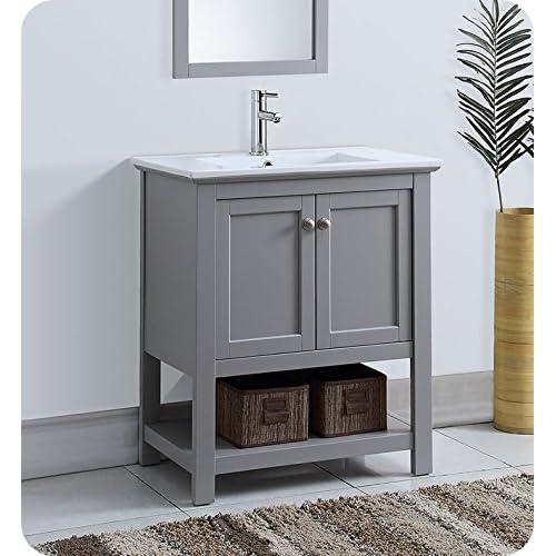 Gray Bathroom Vanity: Amazon.com
