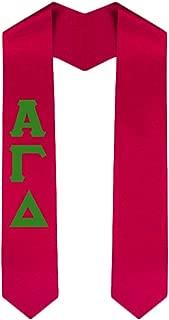 Custom Alpha Gamma Delta Graduation Stole Sash