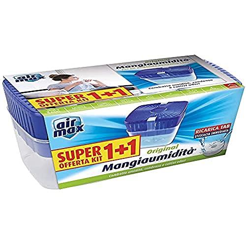 Air Max Kit Tab Mangiaumidita' 450g 1+1 Kit Combatte Umidità, Condensa e Cattivi Odori
