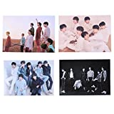 Yovvin 4 Stück BTS Wandtattoo, Kpop Bangtan Jungen 5