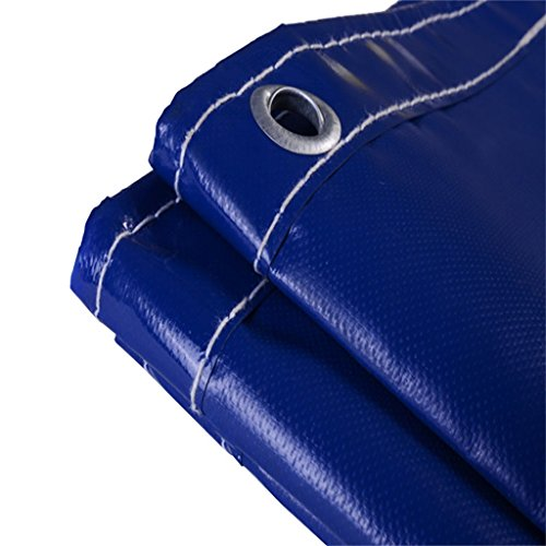 CHUDAN+ Duurzame Kwaliteit Blauw Waterdichte Tarp Vloerbedekking Voor Camping, Vissen, Tuinieren, UV Bescherming En Vochtbescherming, Meerdere Size Opties