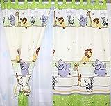 Baby Kinder Vorhänge mit Schlaufen für Kinderzimmer D8 - 2
