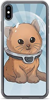 rebecc Subnautica: Keep Calm Kitty Case Cover Compatible for iPhone (XR)