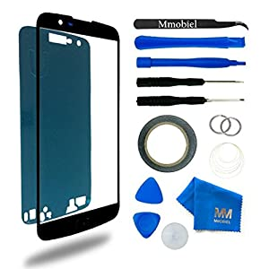 MMOBIEL Kit Reemplazo de Pantalla Táctil Compatible con LG K10 LTE K430 K420 K410 Size 5.3Plg (Negro) Incl. Herramientas