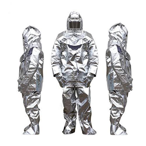 Heatile Aluminiumfolie Arbeitskleidung Schwer entflammbar hochtemperaturbeständig Geeignet für Einkaufszentren, Lernzentren, Bahnhöfe, Fabriken, Feuer (500℃/1000℃),1000℃