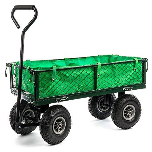 Berlan Metall Bollerwagen - maximal 300 kg - Seitenteile abnehmbar