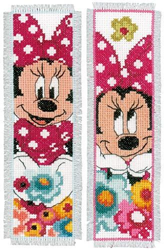 """2er Set Zählmuster Vervaco Disney Lesesezeichen Stickset /""""Reisende/"""""""