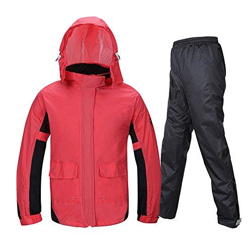 Zhihui poncho ZZHF Yuyi Impermeabile Adulto Split/Moda Moto Equitazione Impermeabile Impermeabile Suit/Outdoor Escursionismo Leggero Impermeabile/Impermeabile Impermeabile Pratico (Dimensioni : S.)