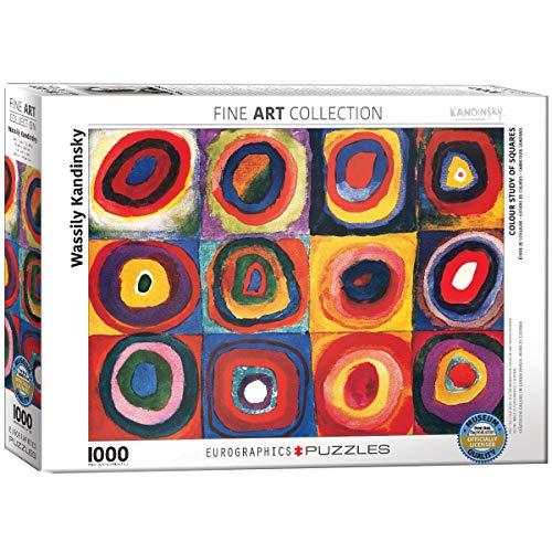 Kandinsky - Study Squares. Puzzle 1000 Teile