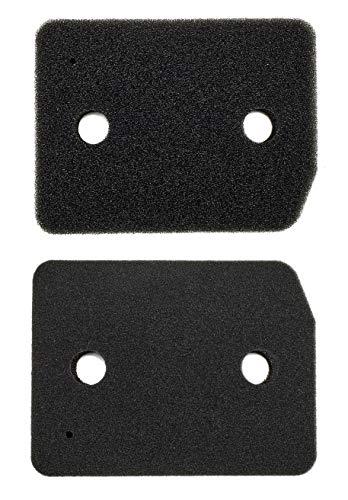 Supremery - 2 filtri per asciugatrice a pompa di calore Miele, utilizzabile invece di filtro Miele 9164761, accessori per asciugatrice, filtro in spugna, filtro pelucchi, filtro in schiuma