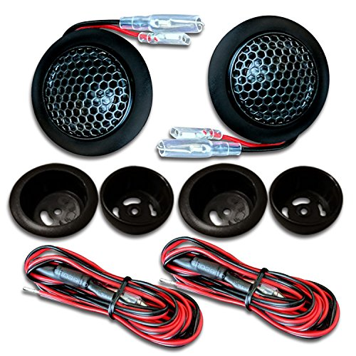 CT Sounds Tropo 20mm Silk Dome Car Audio Tweeters - Pair