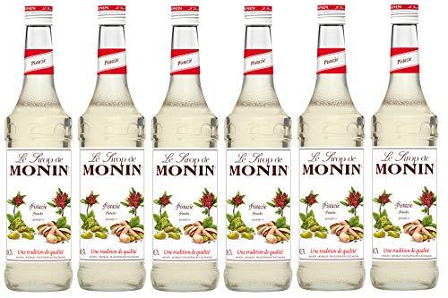 Monin Sirup Pistazie, 0,7L 6er Pack