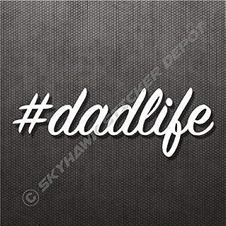 Dad Life Sticker Vinyl Decal #dadlife Sticker Father's Day Car Window Sticker