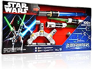 RETEND TO PALY 100+ COMBINATIONS STAR WARS E7 FORCE AWAKENS BLADE BUILDERS LIGHTSABER SET TOY