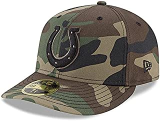 New Era New Era Indianapolis Colts Woodland Camo Low Profile 59FIFTY Fitted Hat スポーツ用品 【並行輸入品】