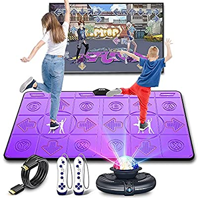 Amazon - 20% Off on Dance Mat for Kids and Adults – FWFX Musical Electronic Dance Mats with HD Camera