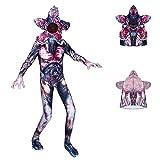 Fira Woo Stranger Things Disfraz Halloween Demogorgon Body Halloween Cosplay Jumpsuit Máscara...