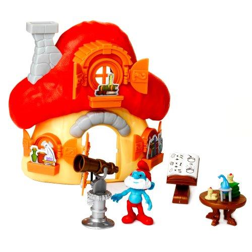 Giochi Preziosi - I Puffi, Casa Fungo con Grande Puffo