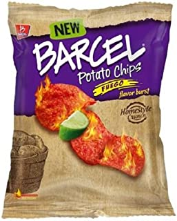 Barcel USA Potato Chips, Fuego, 1.9 Ounce (Pack of 16)