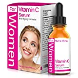 Vitamin C Serum For WOMEN with Hyaluronic Acid and Vitamin E - Anti Aging Topical Facial Serum For A Wrinkle-Free, Healthier and Younger Looking Skin, Made in USA - 2 Fluid Ounces