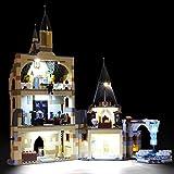 BRIKSMAX Kit de Iluminación Led para Lego Harry Potter Torre del Reloj de Hogwarts, Compatible con Ladrillos de Construcción Lego Modelo 75948, Juego de Legos no Incluido