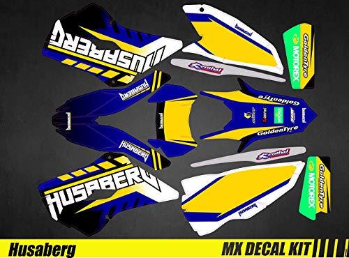 Kit Déco Moto/MX Decal Kit Husaberg FE/Te - Goldentyre