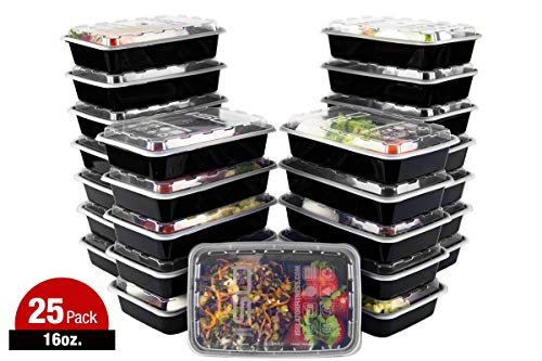 Meal Prep Containers - 16oz 25pk