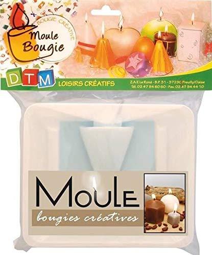 Moule à Bougie Cône H 80 mm - Graine créative