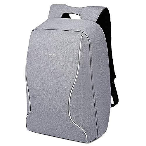 WENZHEN Zaino Termico frigo,Zaino per Laptop Impermeabile con Porta di Ricarica USB Borsa da Viaggio antifurto Antiurto Borsa per Zaino da Viaggio d'Affari @ 17 inchs_Blue