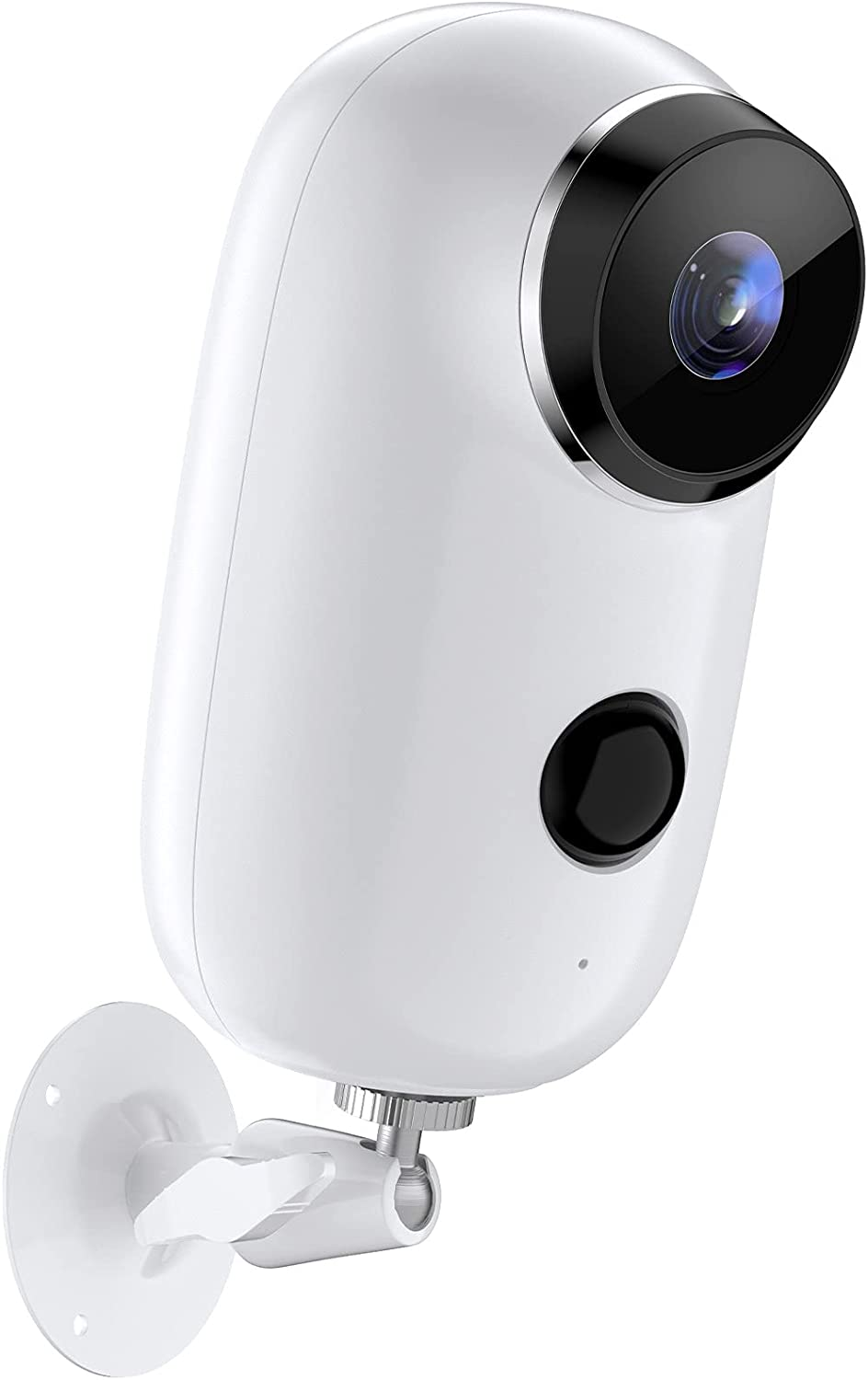 【2021Updated】 Security Cameras Indoor/Outdoor Wireless,With Rechargeable Battery Powered Wifi Camera,Upgraded Night Vision Home Security Camera,2-Way Audio and SD Storage,Advanced AI Person-Detection