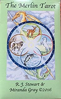 THE MERLIN TAROT: NEW 2016 EDITION of tarot deck (not a book)
