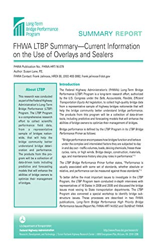 FHWA LTBP Summary-Current Information on the Use of Overlays and Sealers