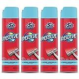 Resolve High Traffic Carpet Foam, Crisp Linen 88 oz (4 Cans x 22 oz), Cleans Freshens Softens & Removes Stains