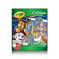 Crayola Colour & Sticker Book Paw Patrol Arts & Crafts