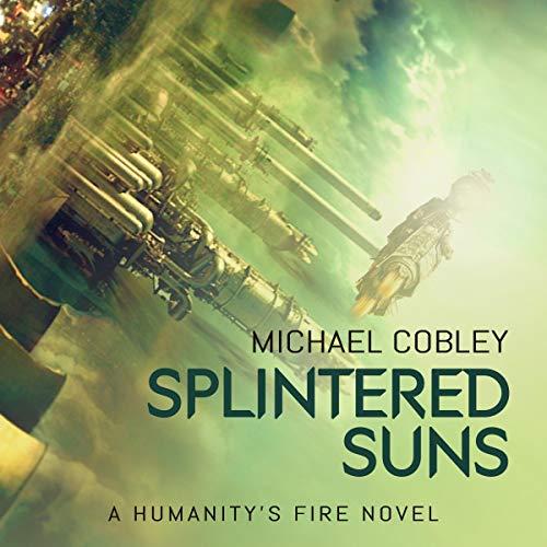 Splintered Suns audiobook cover art
