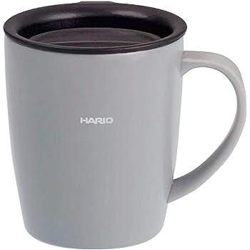 HARIO(ハリオ) マグボトル グレー 300ml HARIO フタ付き保温マグ SMF-300-GR
