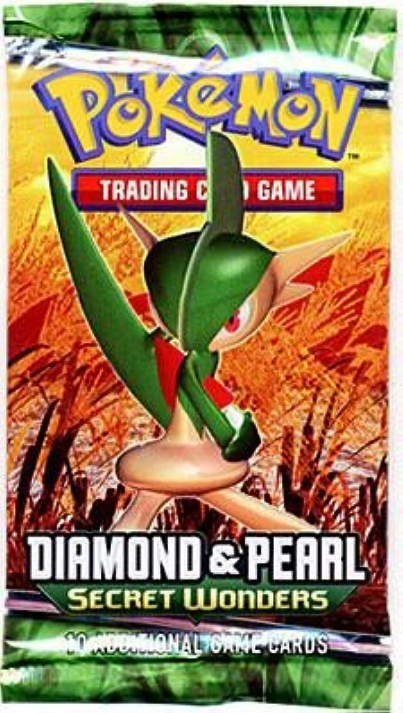 Pokemon Secret Wonders Ex Booster Pack Diamond & Pearl
