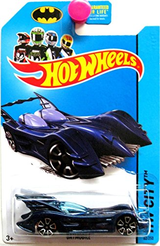 Hot Wheels Batman 75th Anniversary 2014 Hw City Blue Batmobile 62/250 by Hot Wheels