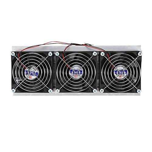 Halbleiter Kühlungs Kühler TOPINCN thermoelektrisches Wasserkühlungs System DIY Gerät mit Ventilator 240W